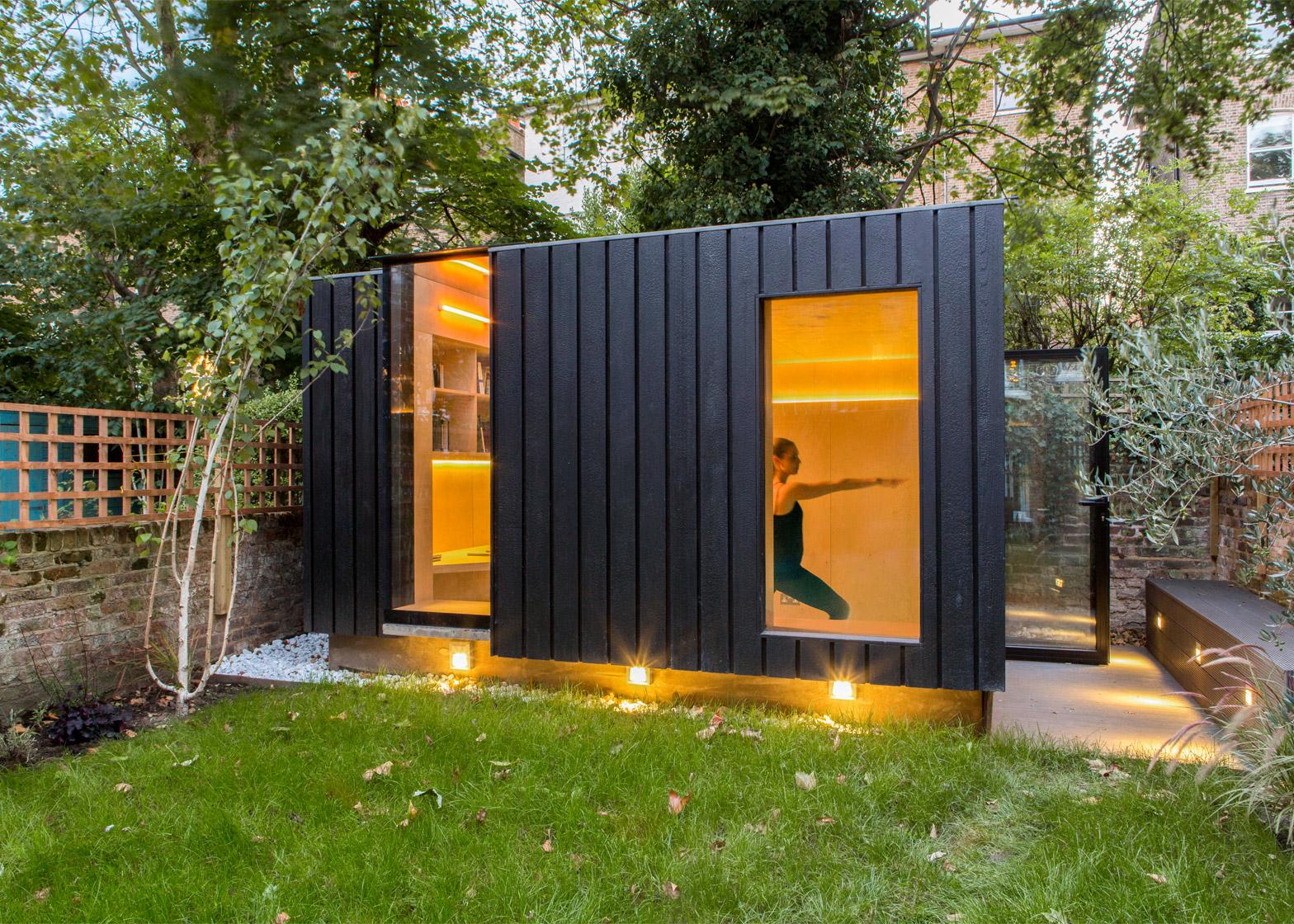 Burnt cedar cladding shou sugi ban - Icon exterior building solutions ...