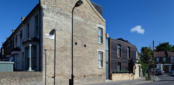 London Town House Charred Cedar 3
