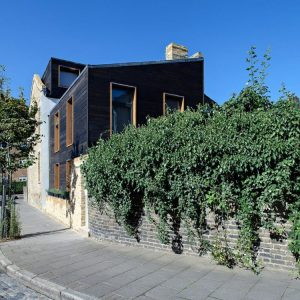 London Town House Charred Cedar 6