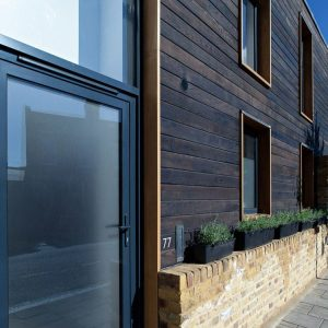 London Town House Charred Cedar 7