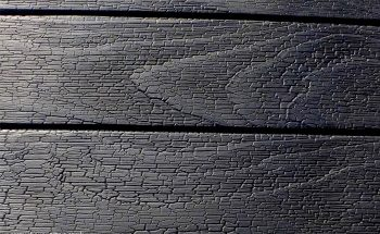 Charred Accoya® Cladding