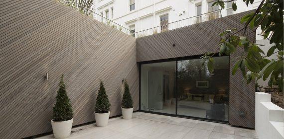 London Mansion rear extension 1